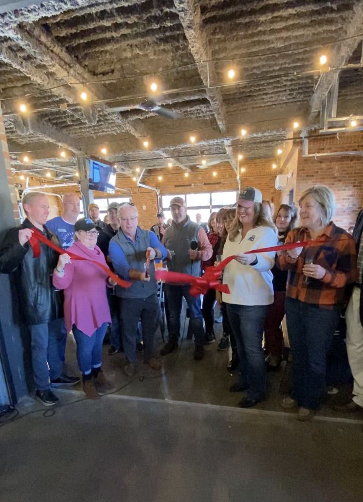 Ribbon cutting at Little Miami Brewing Company