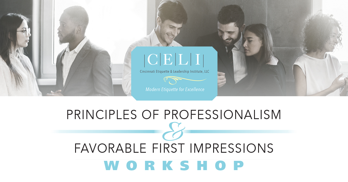 Learn how to make a good impression