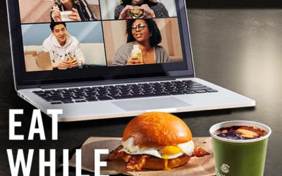 Eat While You Meet –Even Virtually!
